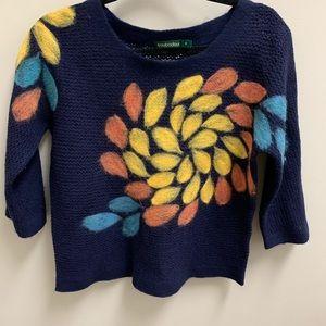 Troubadour (Anthropologie) wide crew neck sweater